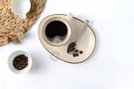咖啡创意搭配静物设计素材图片