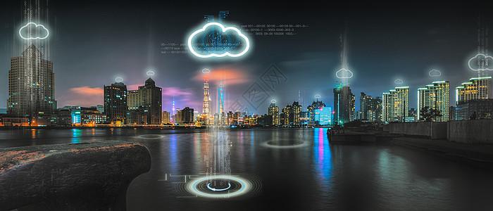 城市建筑商业云科技图片