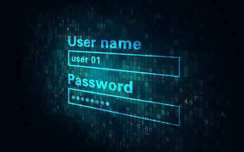 安全密码登陆图片