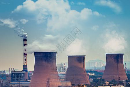 工业污染图片