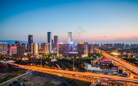 西安锦业路CBD图片