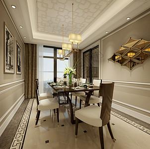 欧式餐厅室内设计效果图图片