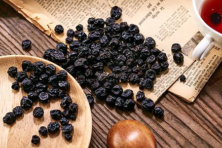 蓝莓干图片