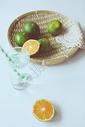 小暑橘子图片