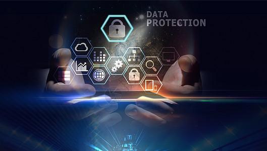 手机科技信息安全传输图片