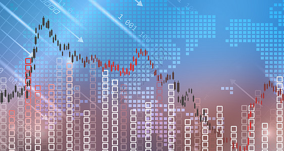 股市动荡图片