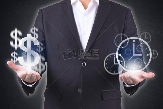 时间等于金钱图片