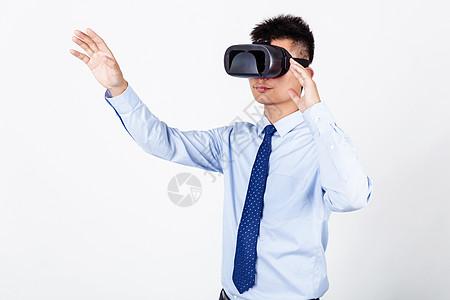 商业男性体验科技VR眼镜图片
