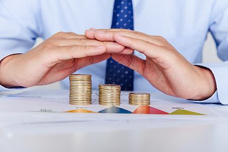 商务金融市场资金数据图片