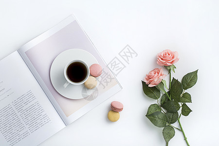 马卡龙下午茶图片