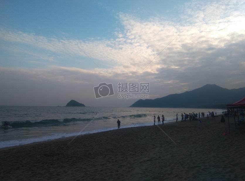 美丽的大海摄影图片免费下载_自然/风景图库大全_编号