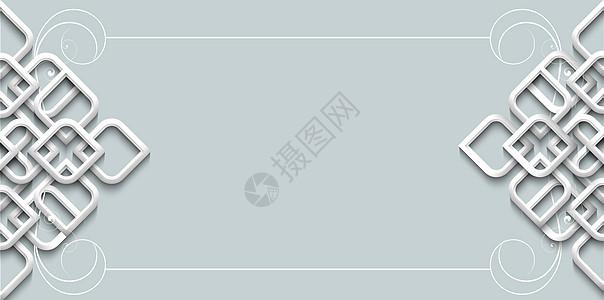 小清新中国风背景图片