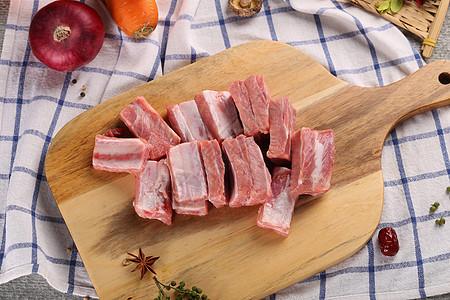 猪肋排图片