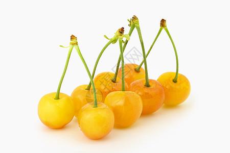 黄樱桃图片