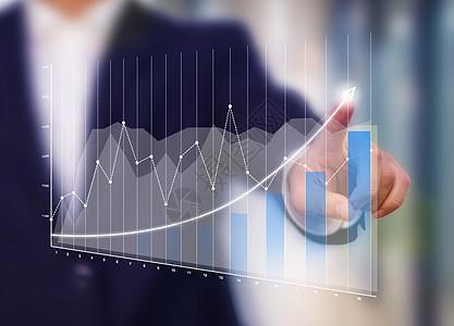 数据统计的商人图片