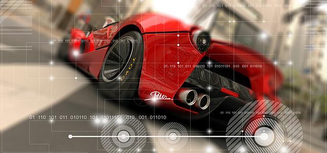 汽车科技数值图片