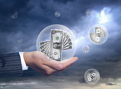 泡沫经济图片