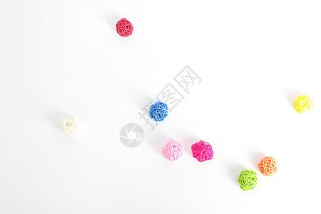 零散的小球图片