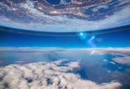 蓝色地球图片