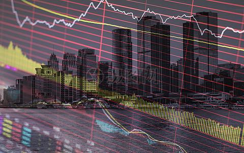 商务股市背景图图片