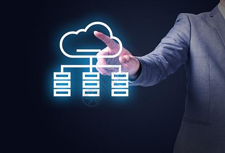 网络云端服务图片