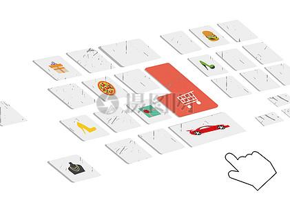 键盘上的购物消费图片