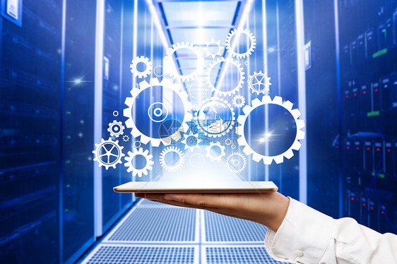 全球网络科技服务器图片