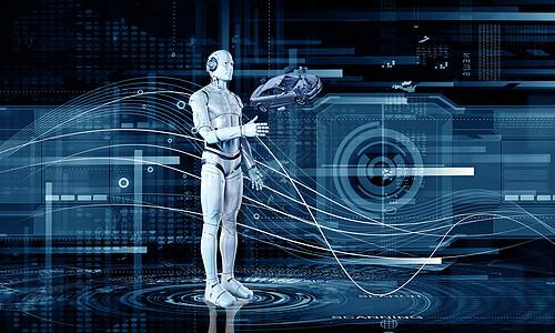 科技机器人图片