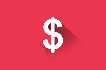 美元符号展示设计图片