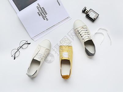 时尚休闲女鞋ins风格图片
