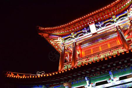 西安古城图片