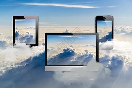 电子产品与云服务图片