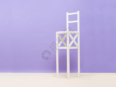 彩色拼色背景椅子图片