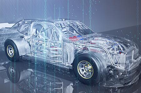 炫酷汽车天空图片