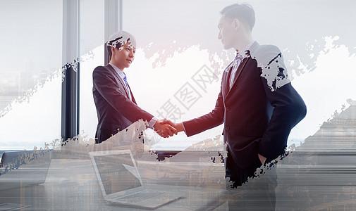 商务合作概念图图片