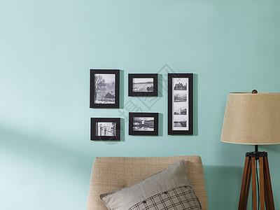 客厅相框组合图片