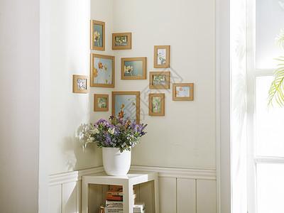 家居转角相框组合图片