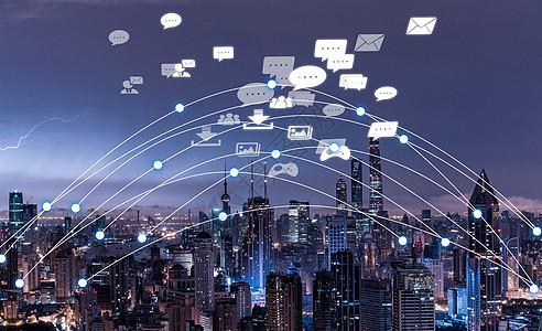 卫星定位城市图片
