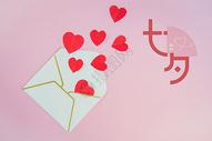 七夕表白创意海报图片