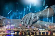 商务合作互联网背景图图片