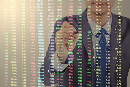 商务股市图片