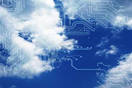 全球网络科技背景图片