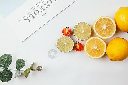 文艺风格水果图片