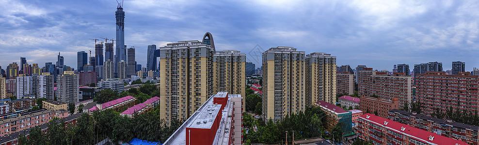 北京城市居民楼图片