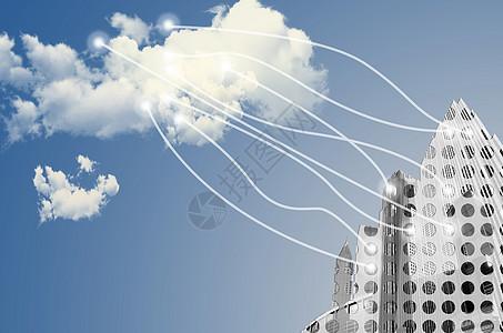 云计算信息化科技城市大数据图片