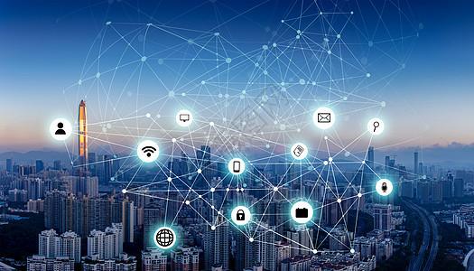 城市互联网云共享技术图片