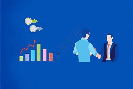 商务握手创意图图片