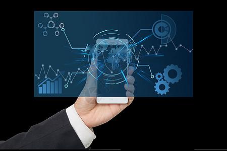 手机数据化分析图片