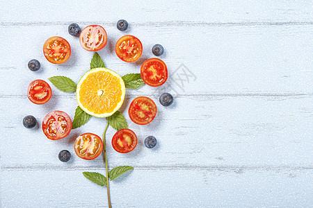 创意番茄图片图片