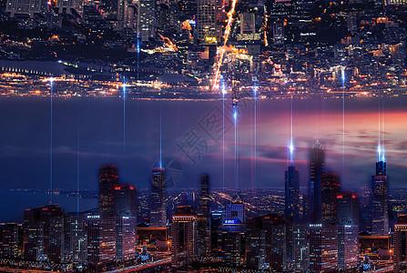 城市信息交流图片